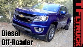 Chevy Colorado Duramax Z71 takes on the Gold Mine Hill Off-Road Review