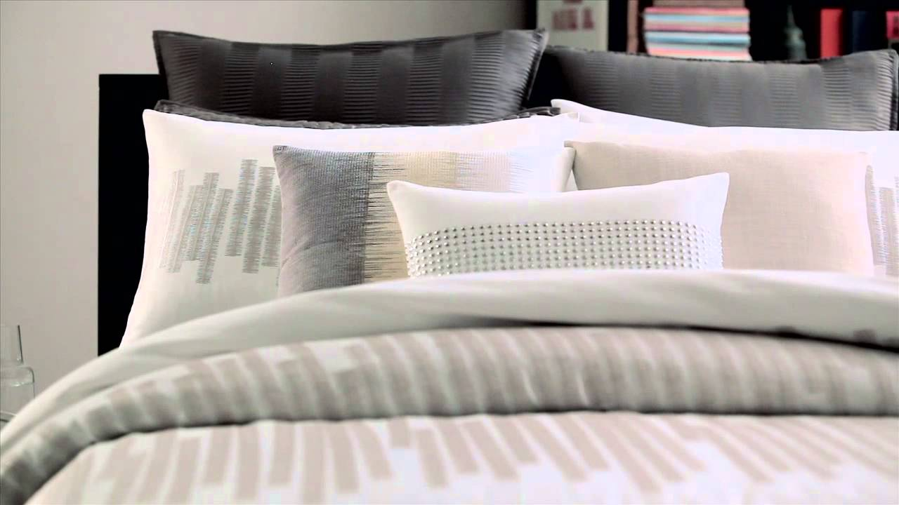 Kenneth Cole Reaction Home Frost Bedding Collection At Bed