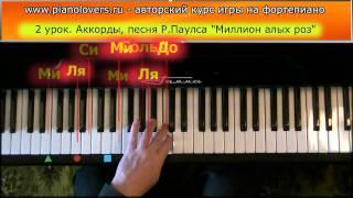 Урок 2 часть 2. Курс фортепиано для начинающих