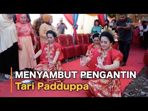 Menyambut Sang Pengantin (Tari Padduppa)