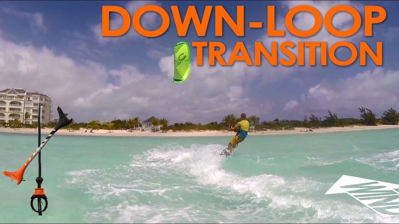 down loop transition - kite surf co tutorial
