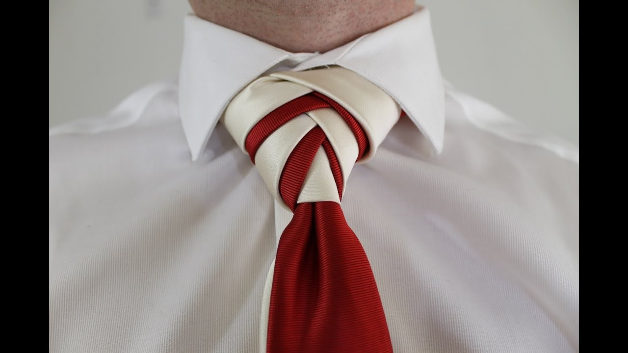 How To Tie a Tie Double Eldredge Knot - YouTube - photo#37