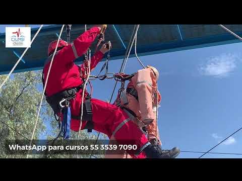 Rescate sobre cuerda en ascenso