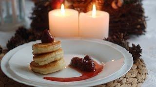 Пышные оладьи на завтрак, легкий рецепт