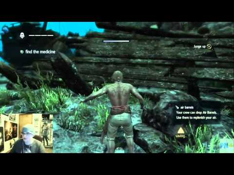 Assassin's Creed IV Black Flag First Underwater Mission