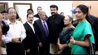 Inauguration by Mohanlal