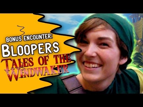 Legends of Zelda Tales of the Windwaker Bloopers