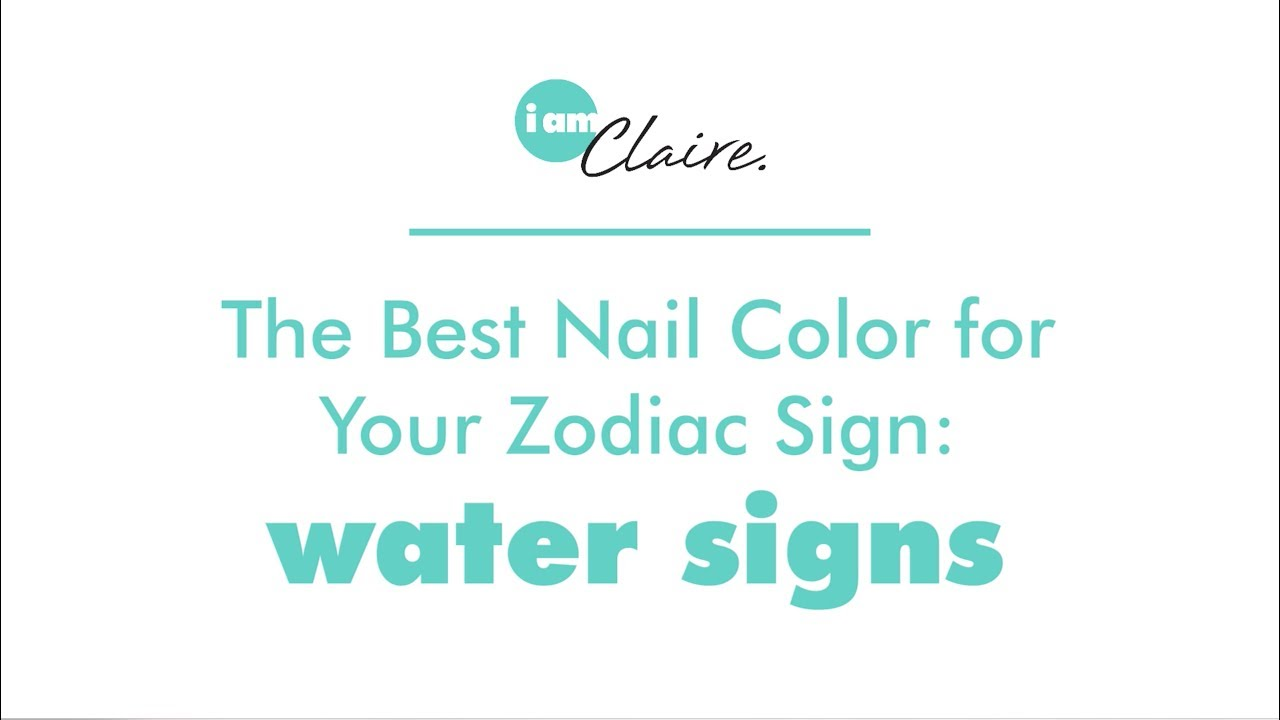 Which nail color best your zodiac sign