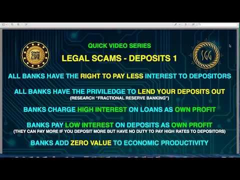 Deposits At Risk Fractional Reserve Banking