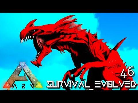 ARK: SURVIVAL EVOLVED - NEW ALPHA REAPER KING TAMED E46 !!! ( ARK EXTINCTION CORE MODDED )