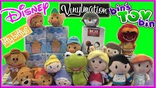Disney Cinderella & 101 Dalmatians Vinylmation + Tsum Tsums & Itty Bittys! By Bin's Toy Bin