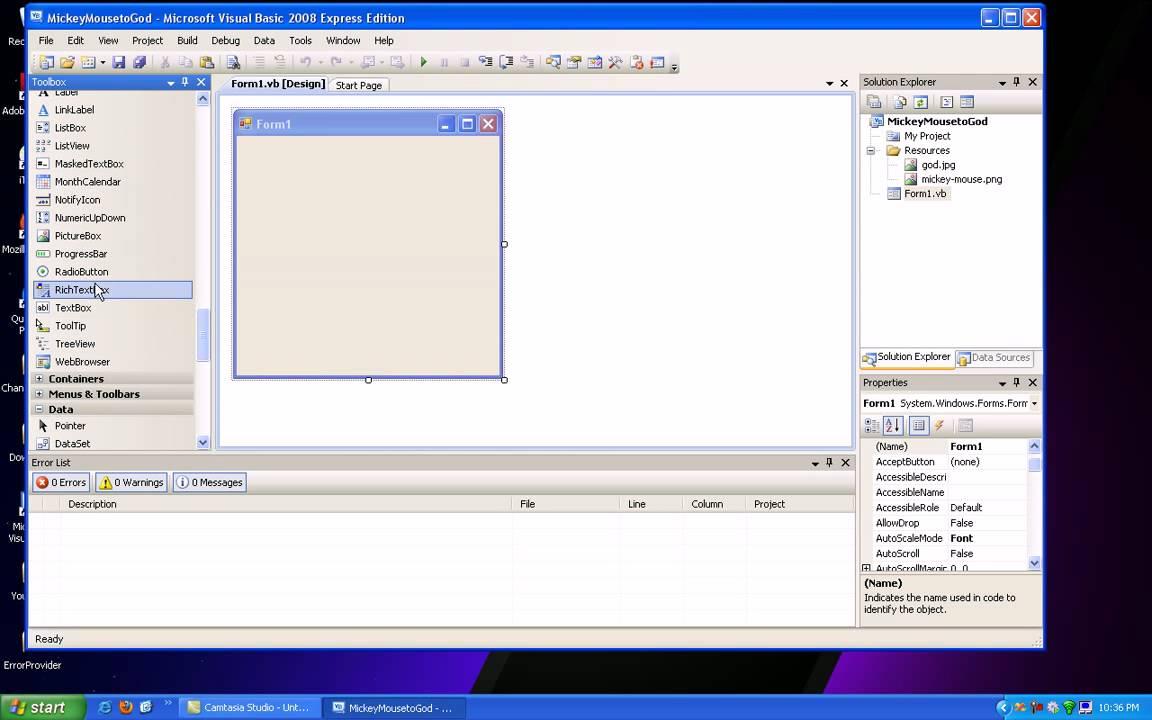 Visual Basic Change Image Tutorial