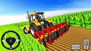 Real Farming Tractor Simulator 2020 - Wheat Harvester Tractor Driving - Android Gameplay screenshot 5