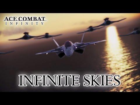 Ace Combat Infinity - PS3 - Infinite Skies (Trailer)