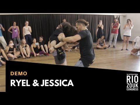 VIII RIO ZOUK CONGRESS - Demo - Ryel & Jessica