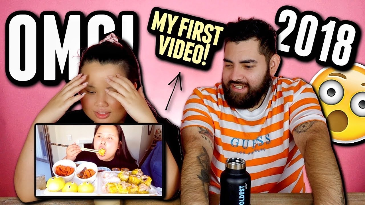 REACTING TO MY FIRST MUKBANG 먹방 EATING SHOW VIDEO! *I CAN'T BELIEVE IT*