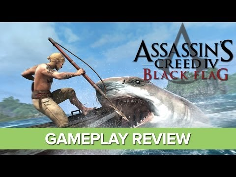 Assassin's Creed 4 Gameplay Review - AC4 Black Flag Review with Xbox 360 Gameplay