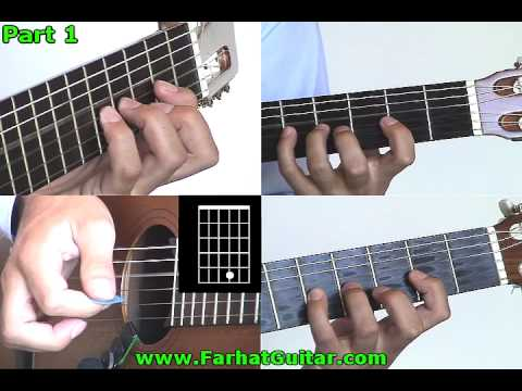 Let´s Spend the Night Together -  Chord Version -  Rolling Stone 1/4  www.FarhatGuitar.com