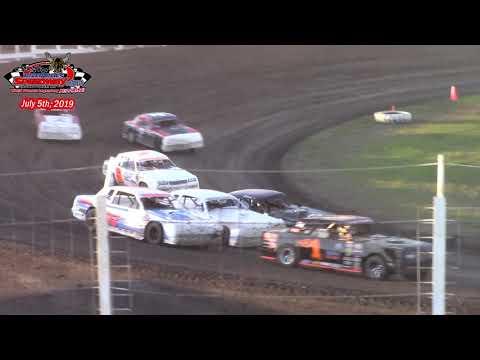 River Cities Speedway WISSOTA Street Stock A-Main (7/5/19)