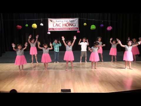 """Lạc Hồng - Bé Tí Dance Team - Performed """"Bé Khỏe Bé Ngoan"""""""
