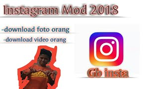 instagram gb mod apk