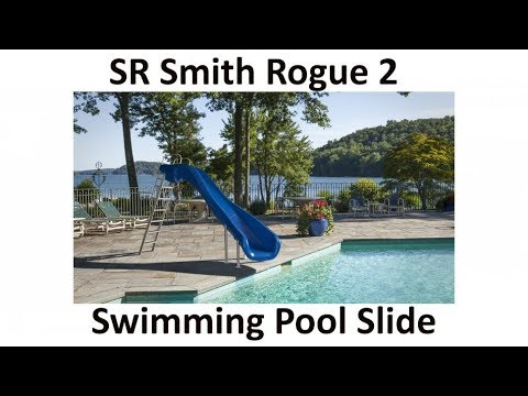 SR Smith Rogue 2 Residential Swimming Pool Slide, Home domestic use