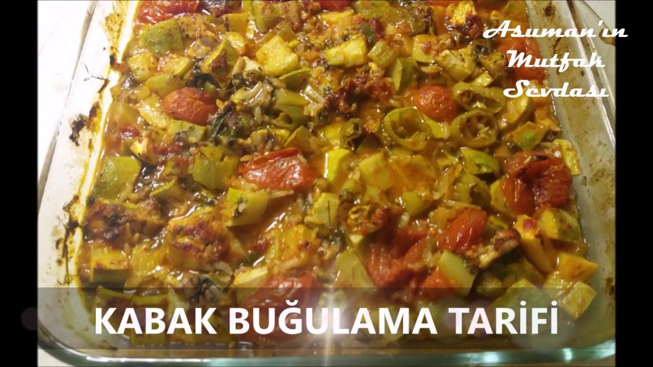 Zeytinyağlı Kabak Tarifi Videosu