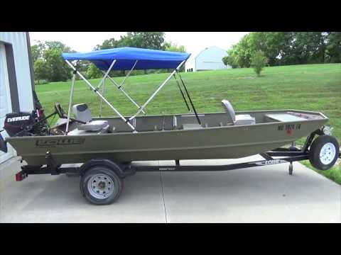 How To Install A Bimini Top - Jon Boat Bimini