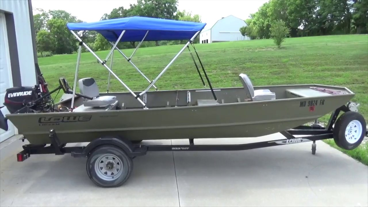 How To Install a Bimini Top - Jon Boat Bimini & How To Install a Bimini Top - Jon Boat Bimini - YouTube