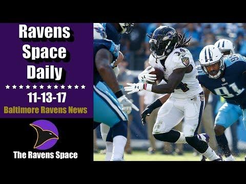 Ravens Still Favorites for Playoffs? | Ravens Space Daily 11-13-17 | Baltimore Ravens News