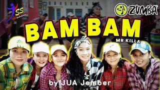 Download lagu BAM BAM - Mr Killa /Zumba / Choreo by Zin JUA_Jember