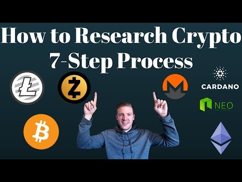 How to Research a Crypto in 7 Steps - My new daily habit