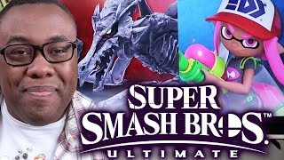 SMASH BROS RIDLEY vs INKLING - Ultimate First Impressions (w/ Bill Trinen)