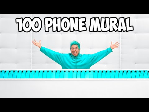Painting The World's Longest Phone Mural ($80,000)