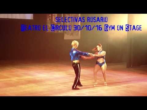 Gym on stage 2016 dupla de baile de salon gimnasio mel for Gimnasio fitness rosario