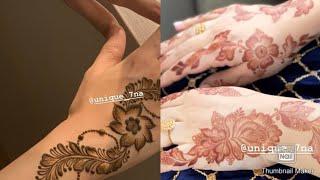 राखी स्पेशल मेहंदी डिजाइन 2019 | Eid special mehndi design | Unique mehndi design|