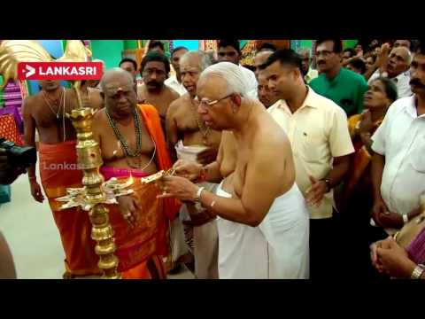 New Kali Kovil Opening In Trincomalee