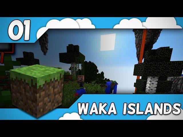 UUTTA SKYBLOCKIA? | Waka Islands 2 w/ Glyffi