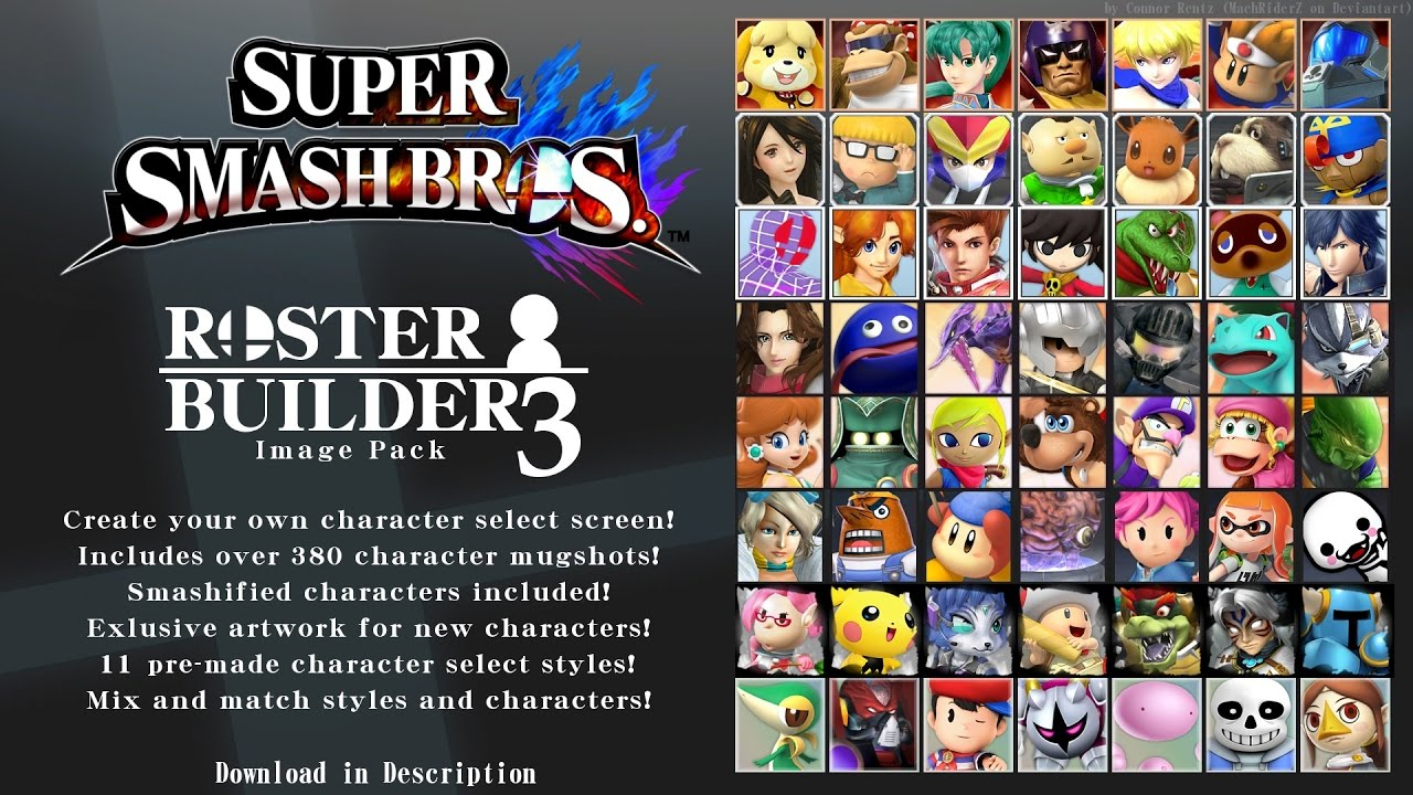 Johns Roster Collection From The Super Smash Bros Roster