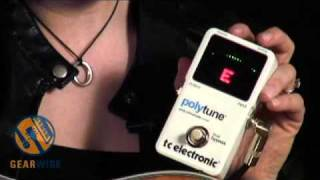 Download TC Electronic PolyTune Explained By TC Group's Laura Clapp () MP3 song and Music Video