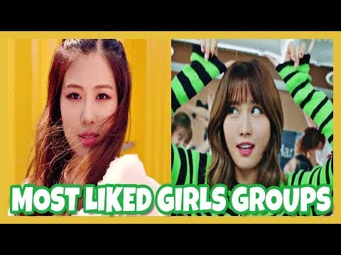 [TOP 10] KPOP Most Liked Girl Groups Music Videos [March 2018]