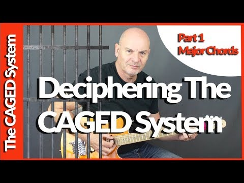 Deciphering The CAGED System Part 1 Major Chords
