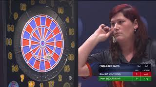 Semifinale –Blanka Vojtková vs. Jana Sedláčková | FINAL FOUR DARTS 2018
