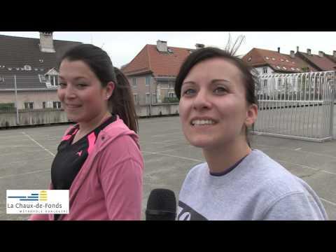 Séance d'urban training à La Chaux-de-Fonds