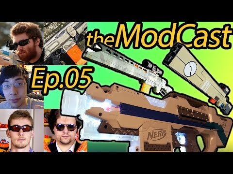 """Zombies & Flywheels"" feat. AeroMech, Foam Data Services, Hawki007 - ModCast Ep.5 Make Test Battle"