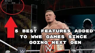 5 Best Features Added To WWE Games Since Going Next Gen