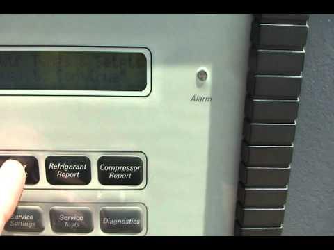 90 ton trane rtaa air cooled chiller test run youtube rh youtube com trane rtac 300 service manual Trane RTAA125