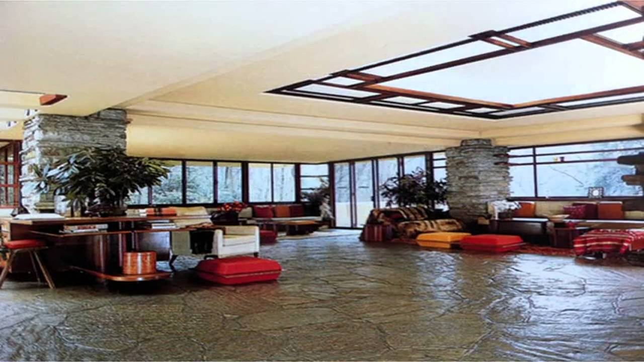 Interior Design Trends Fallingwater Interior Youtube