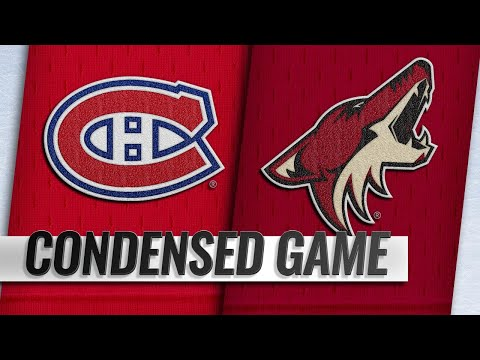 12/20/18 Condensed Game: Canadiens @ Coyotes