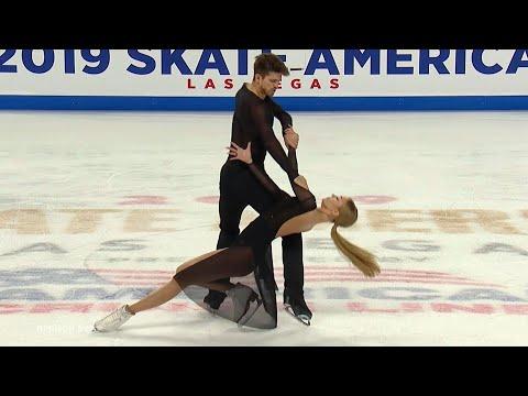 Произвольный танец. Танцы. Skate America. Гран-при по фигурному катанию 2019/20